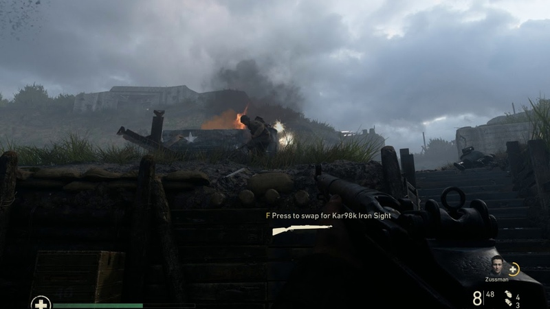 Call of Duty WWII - Day D - immortality