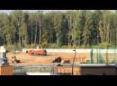Котлован для строительства сада в Солнечной долине