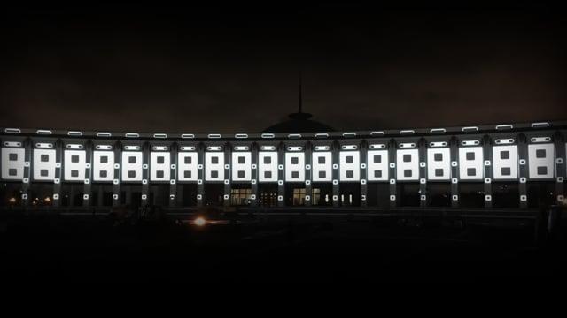 FREEDOM Daniel Shebzukhov LUMENART MOSCOW LIGHTFEST 2019