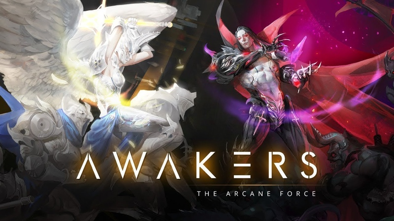 AWAKERS android rpg strategy game обзор андроид РПГ игры