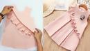 Menjahit baju anak (Pola spiral)