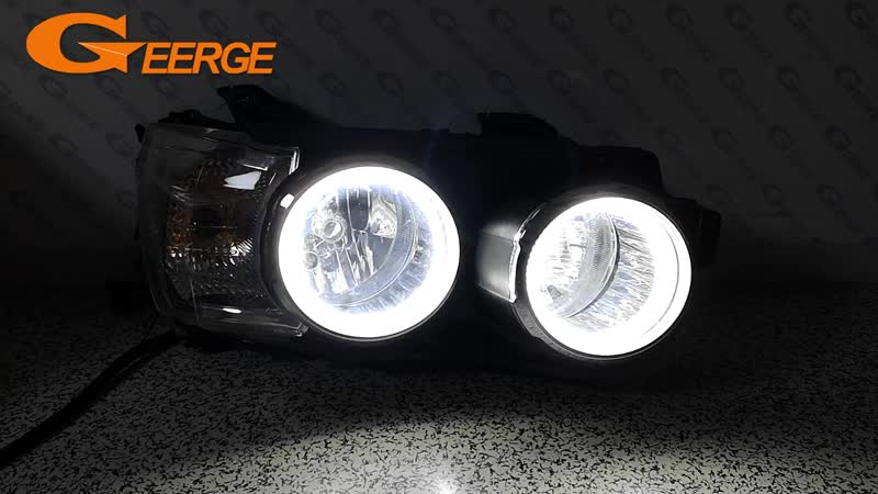 For Chevrolet AVEO Sonic T300 2011 2012 2013 2014 smd led Angel Eyes kit Excellent Ultra bright illumination DRL