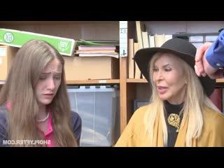 Erica Lauren And Samantha Hayes мать и дочь тахнули за воровство (секс,минет,пор