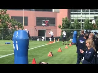 Antonio brown and the patriots are back to work.