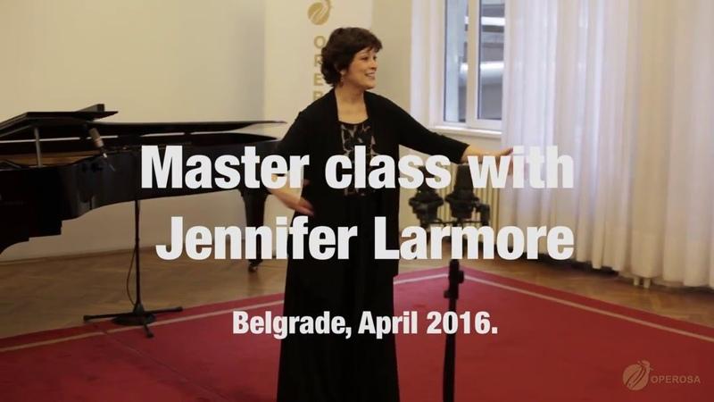 Operosa   Master Class Jennifer Larmore   April 2016