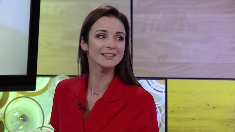 С добрым утром малыши Телеведущая Ирина Пудова в гостях у Хрюши