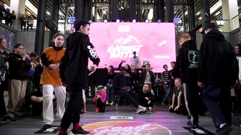 Everest battle 2 0 1 9 Hip Hop 2x2 Semi Final ENZO Neiman win vs Яшнов Кирилл Madina