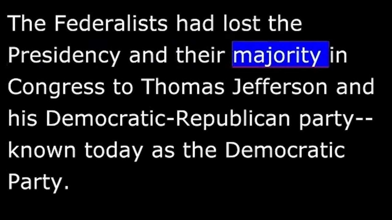 American History Part 034 Jefferson Louisiana Purchase Marbury decision Hamilton killed