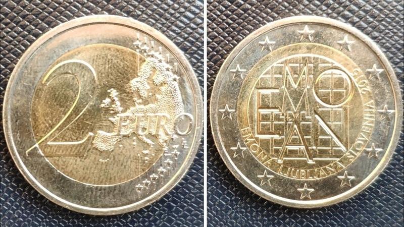 Slovenia 2 euro 2015 - 2000 years of Emona / 2 евро, Словения (2000 лет римскому поселению Эмона)