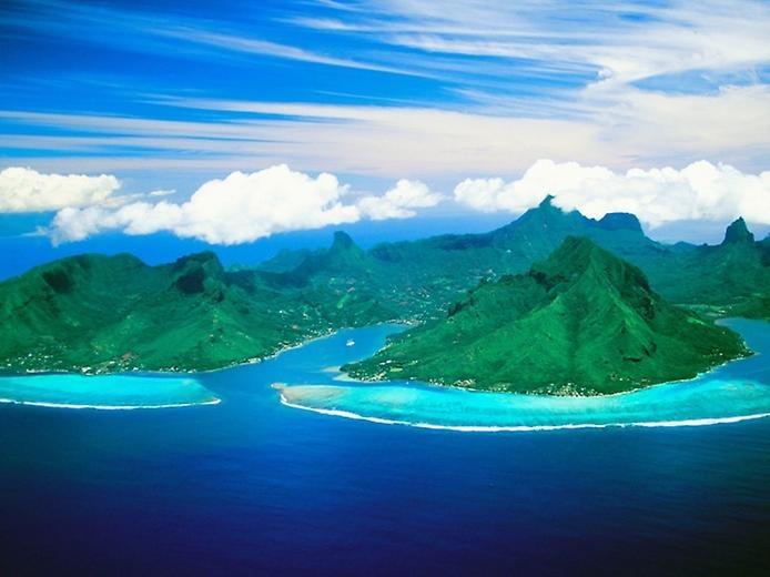 Остров Муреа во Французской Полинезии, изображение №3