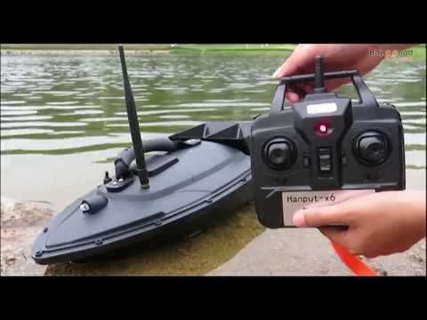 Flytec 5 Generation Electric Fishing Bait RC Boat 500M Remote Fish Finder 5 4kmh Double Motor Toys