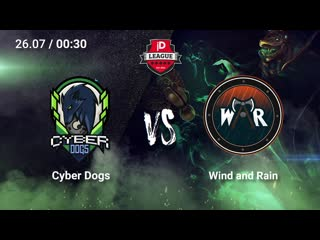 Cyber Dogs vs Wind and Rain