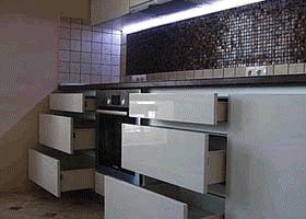 Кухня без ручек — не проходим мимо(!), читаем подробный рассказ дизайнера компании, изображение №5