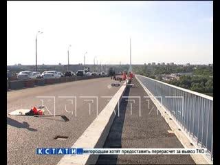 Ремонт на первой полосе Мызинского моста практически закончен
