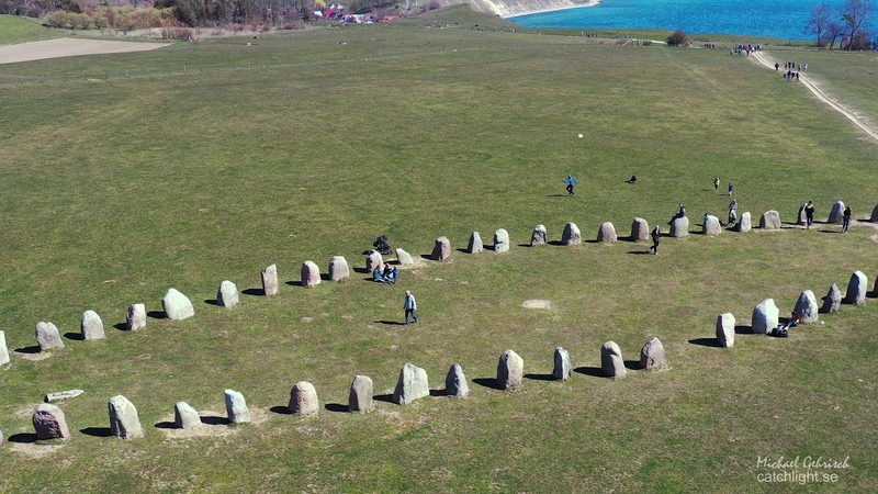Ales Stenar Megalithic Monument