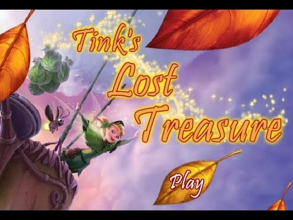 DISNEY FAIRIES 03 Tink's Lost Treasure Потерянное Сокровище Динь flash game