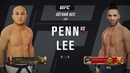 DFL 20 Lightweight BJ Penn VS Kevin Lee