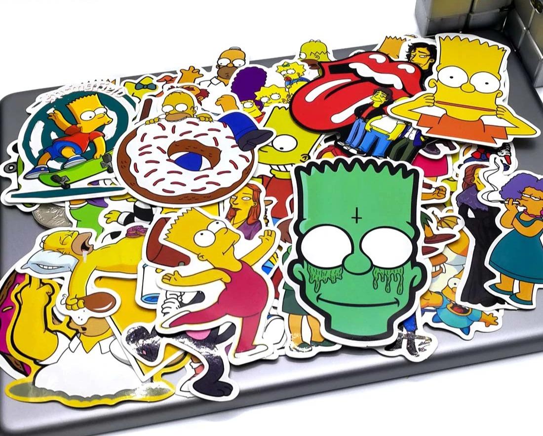Стикеры Симпсоны