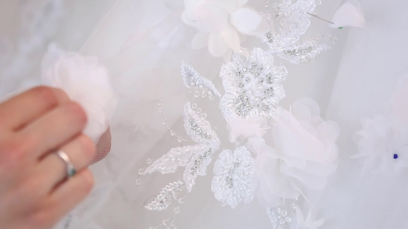 Ralph Russo Autumn Winter 2019 2020 Couture Bridal Gown The Making Of