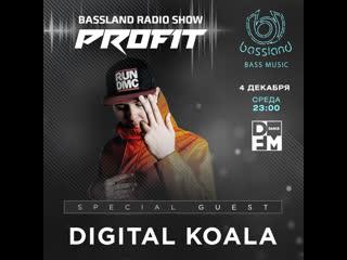 Bassland show @ dfm () special guest digital koala. bass house, dubstep, drumbass