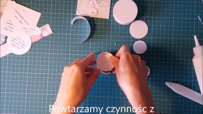 Box ślubny tutorial Lemoncraft
