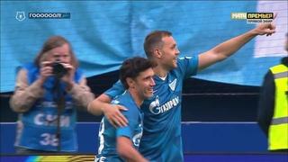 Зенит - Тамбов. 2:0. Артем Дзюба, Российская Премьер-Лига, 1 тур