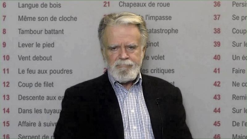 Le français journalistique, la matrice de tous les clichés qui infestent la vie sociale
