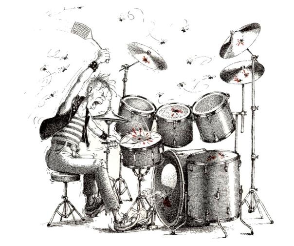 Праздника семьи, смешная картинка барабанщик