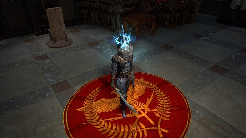 In Path of Exile: Blight you'll be able to wear two helmet attachments at once!