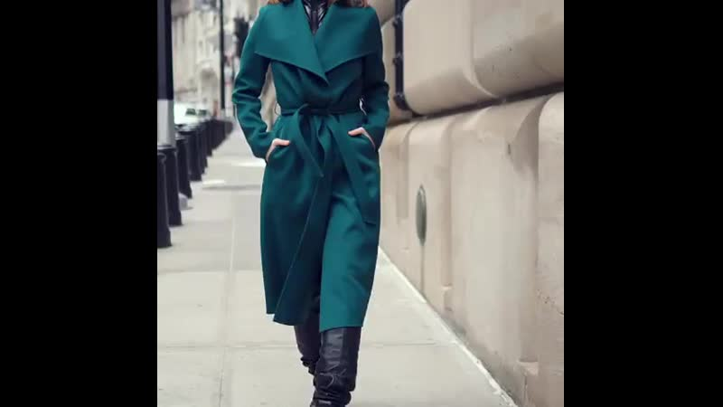 Layer, wrap, tie_ flawless outerwear style with a simple approach. Shop each sha ( 750 X 750 ).mp4