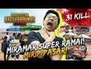 31 KILL! SAPU BERSIH MIRAMAR YANG RAME KAYAK PASAR! - PUBG Mobile Indonesia