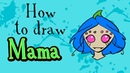 How to Draw Mama Spider