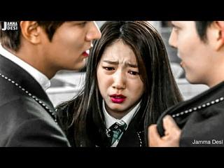 New Korean Mix Hindi Songs 💗 College Love Triangle Story Song 💗 Kore Klip 💗 Jamma Desi