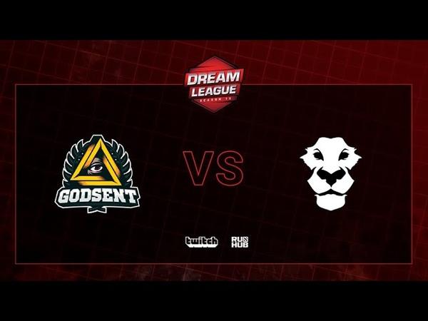 Godsent vs Ad Finem DreamLeague S13 QL, bo2, game 2 [CrystalMay]