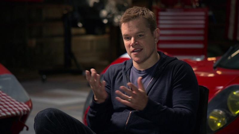 Matt Damon on why he worked on Ford vs.Ferrari