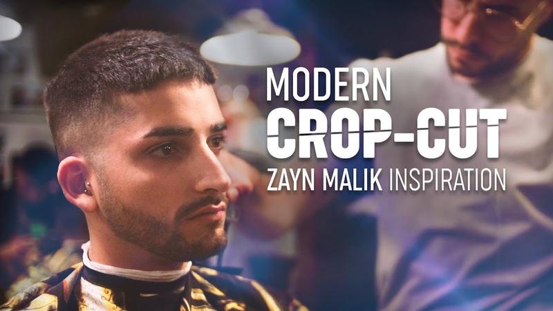 Modern Crop Haircut Zayn Malik Hair Inspiration