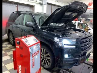 Замена масла в АКПП / Toyota Land Cruiser 200