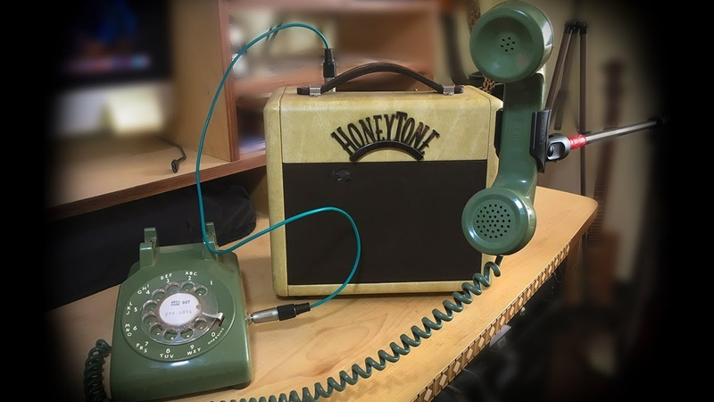 How to turn an old Telephone into a hip retro microphone