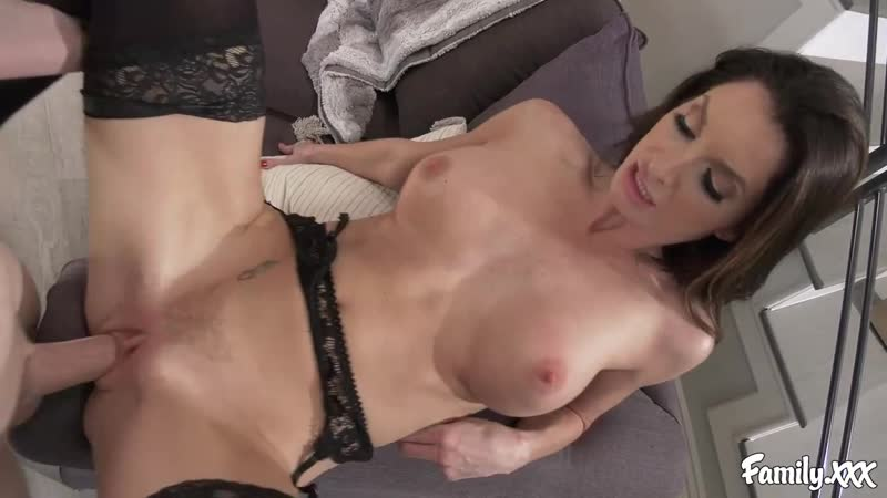 Step Mom Helps Son Jerk Off