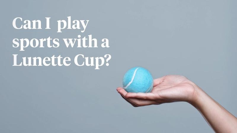 🧐 Можно ли заниматься спортом с менструальной чашей Lunette ⛹♀