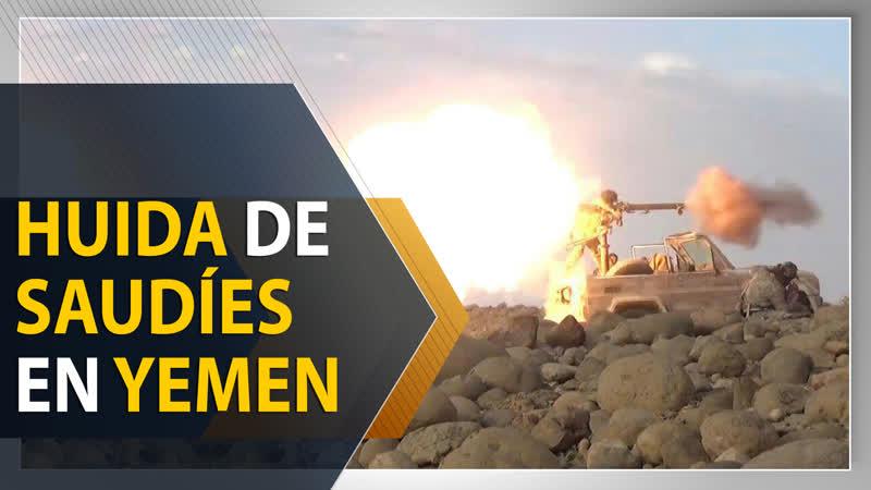 Vídeo muestra huida de los mercenarios de Arabia Saudí en Yemen