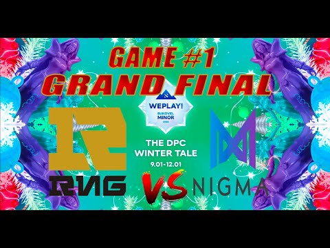 RNG vs NIGMA Miracle GRAND FINAL CRAZY GAME Bo3 WePlay Bukovel Minor 2020 Game 1