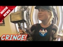 Brie Larson Lifts Thor's Hammer and People Lose Their Minds What A Bunch of CRINGE