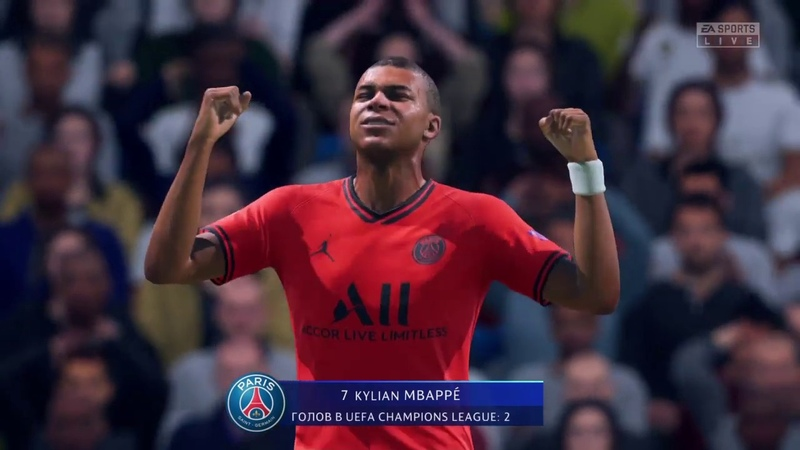Real Madrid - PSG match movie 2019 FIFA 20 Mbappe crazy goals skills