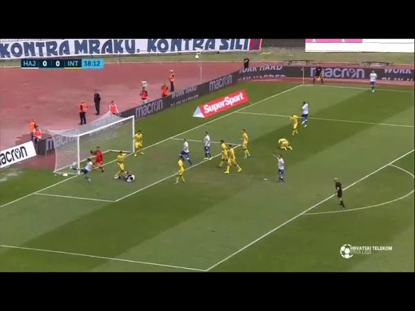 Golovi Hajduk Split 3 1 Inter Zaprešić Prva Liga 19 20