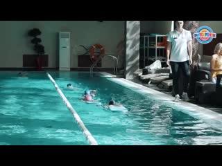 набор в детскую секцию плавания