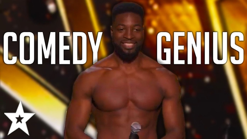 FANTASTICALLY FUNNY Auditions By Comedian PREACHER LAWSON On Got Talent!   Got Talent Global