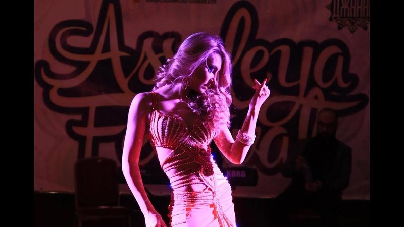 Anna Samoteeva and Ensemble Khayam 1001 night Halawet rooh WINNER ASSALEYA FESTIVAL