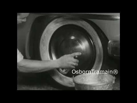 1953 WhiteGlow White Wall Cleaner Commercial Featuring 1953 Plymouth Savoy