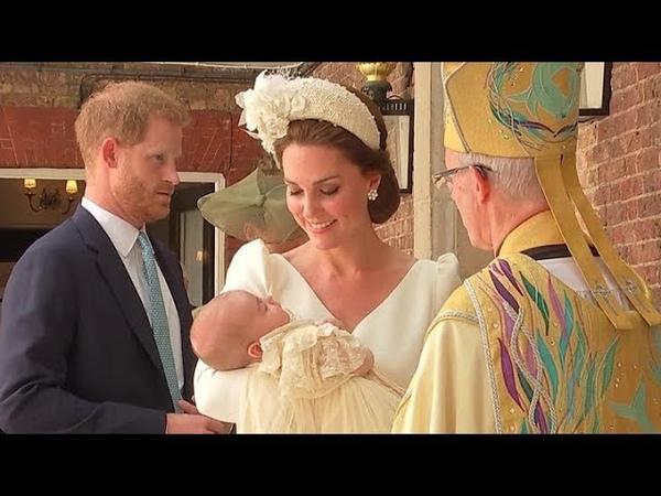 Крестины принца Луи в королевской семье